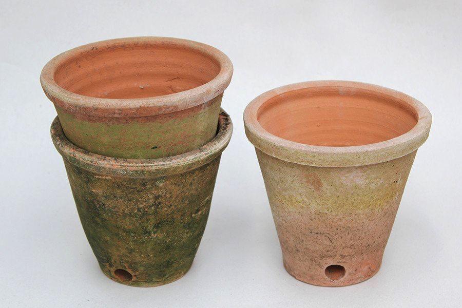 Aged Victorian Planters Planters Rustic Terracotta Pots Garden Gazebo