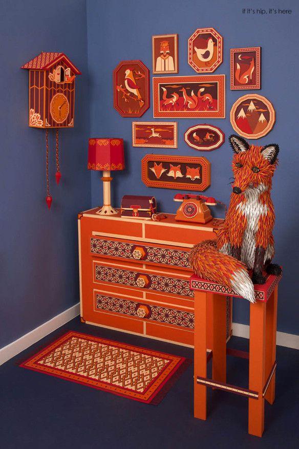zim and zou foxes den window display hermes7 IIHIH
