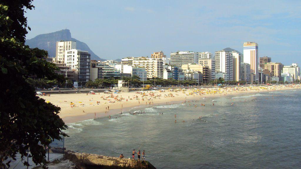 Av. Delfim Moreira - Praias de Leblon - Ipanema - Rio - RJ - nov/2009