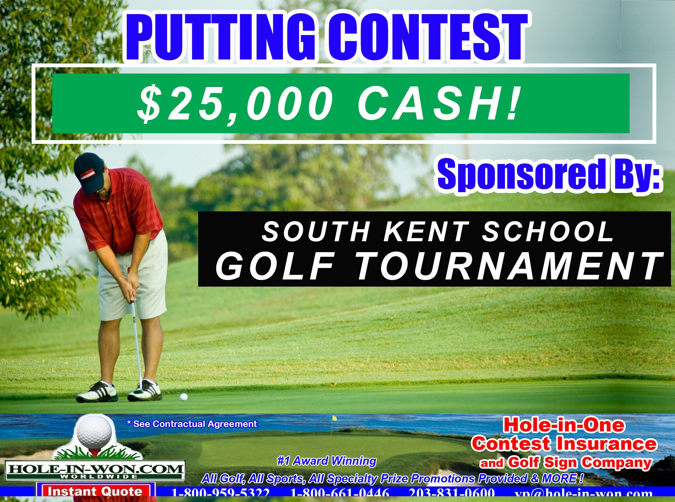 Scholarship Alumni School Benefit Golf Outings Hole In One