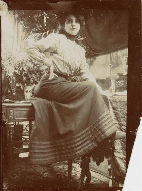 Photographic Study - Alphonse Mucha