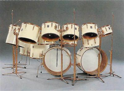 this kit is epic keith moon had it custom made by premier and went all out probably defining a. Black Bedroom Furniture Sets. Home Design Ideas