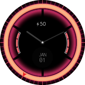 Neon Analogic Watch Watch Face Preview Watch Faces Apple Watch Sony Smartwatch 3