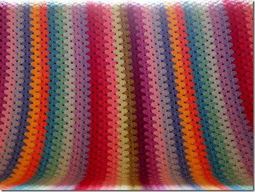 granny stripe blanket 4 crochet granny stripes pinterest h kelarbeiten h keldecke und. Black Bedroom Furniture Sets. Home Design Ideas