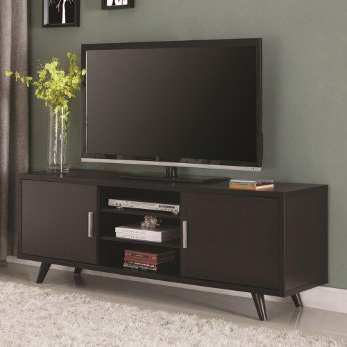 Coaster Entertainment Units Mid-century Modern TV Console - Coaster Fine Furniture