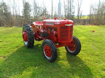 1946 w f hebard a 21 shop mule tractor tractor mower. Black Bedroom Furniture Sets. Home Design Ideas
