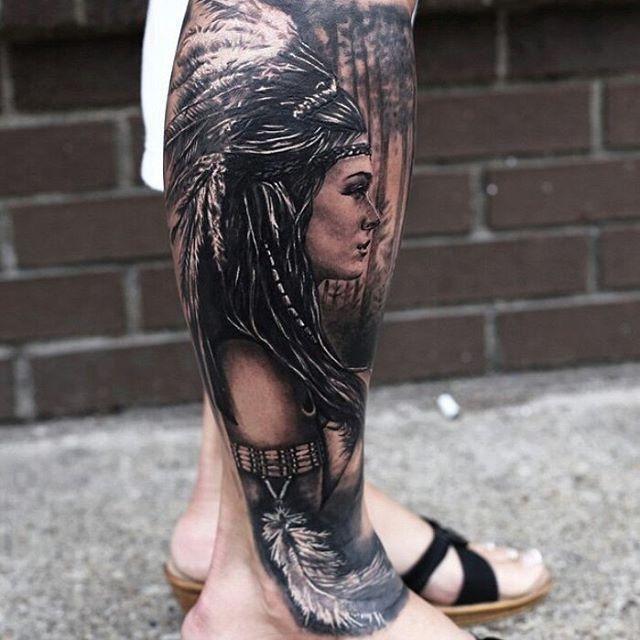 100 Tatuagens Masculinas Na Perna Cheias De Personalidade