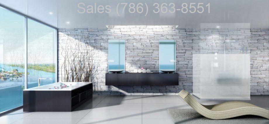 400 Sunny Isles Designer bathroom http://livemiami411.com/2015/09/06/400-sunny-isles-condos-for-sale/  #400SunnyIsles #LuxurymarinacondosMiami #BrosdaandBentley #marinalivingMiami #SunnyIslesBeach