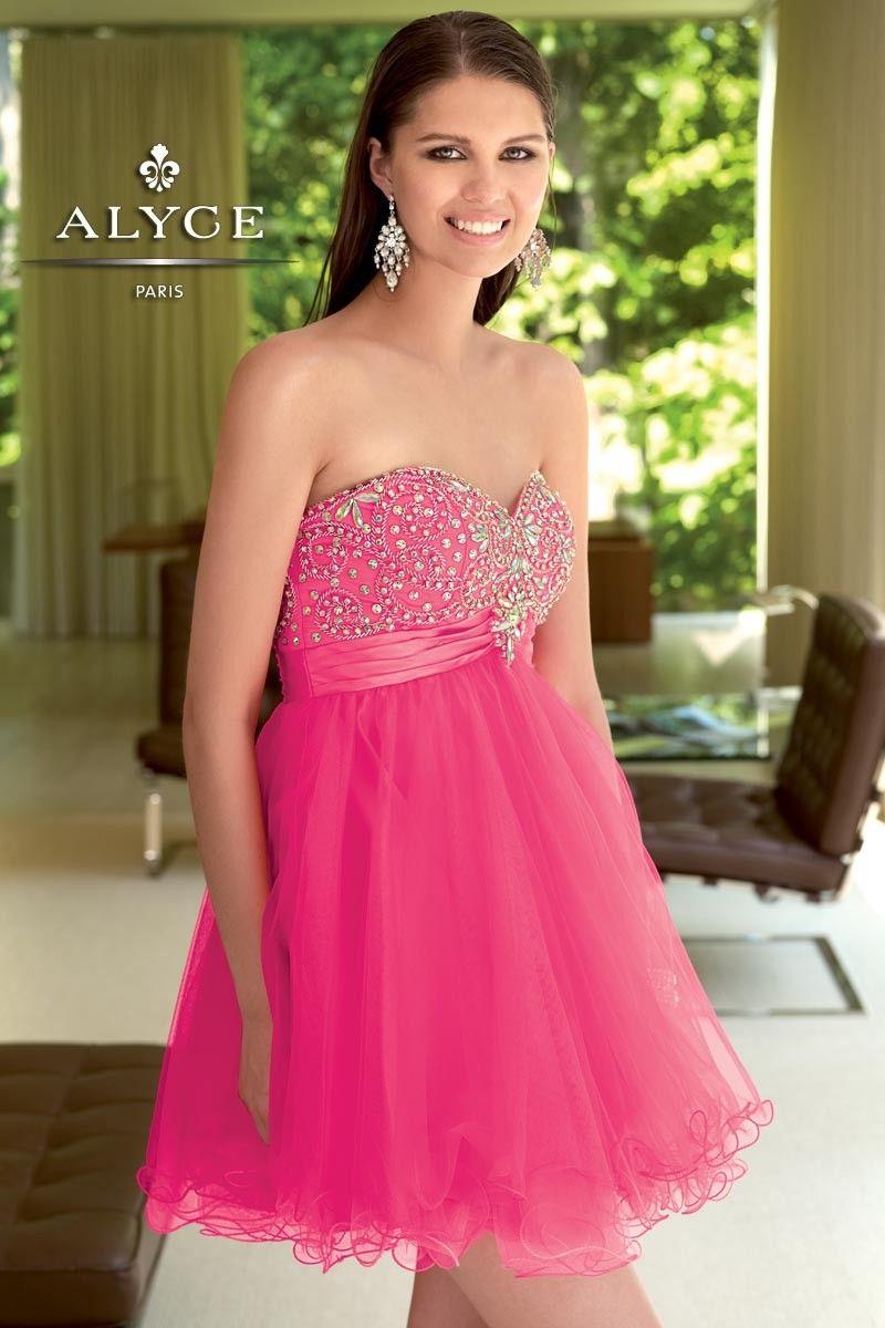 Alyce Paris | Prom Dress Style 4310 - Full shot | Pink Dresses ...