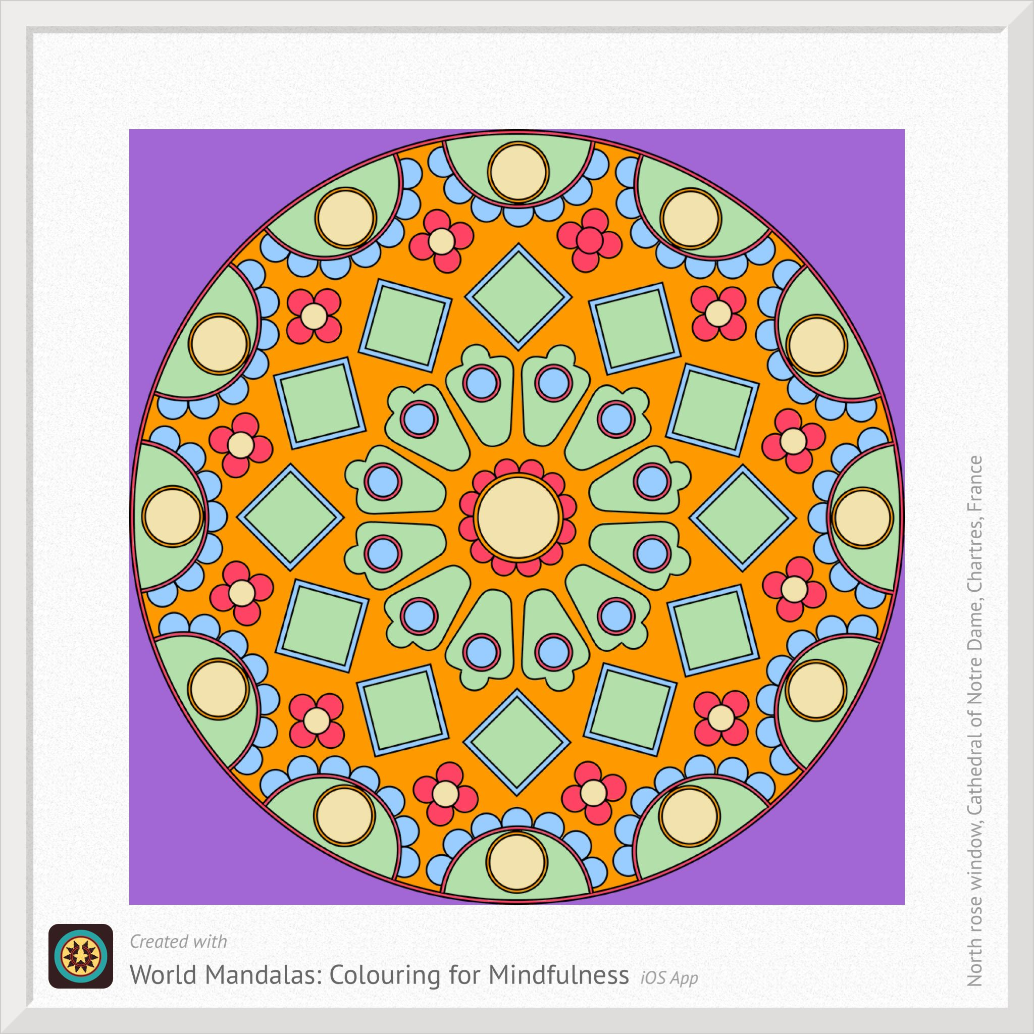 World Mandalas Colouring For Mindfulness On The App Store