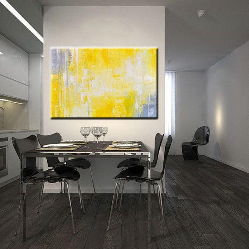 Pin by Mohamed Ikram on interior-art | Pinterest | Yellow wall art ...