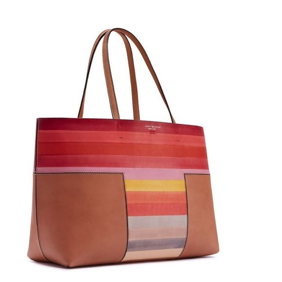 d26fe8f94450 ✨NWT✨ Tory Burch Block T Degrade Colorblock Tote NWT! Authentic ...