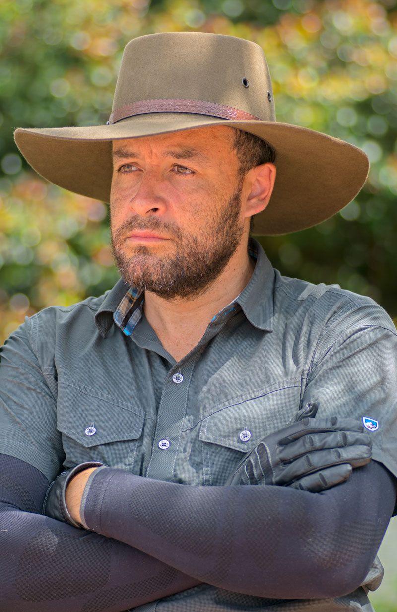 Akubra Territory Hat Khaki Akubra Cowboy Hats Hats