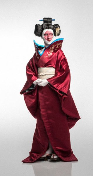 Ghost In The Shell Cosplay Robot Geisha Cosplay Costume Version 01