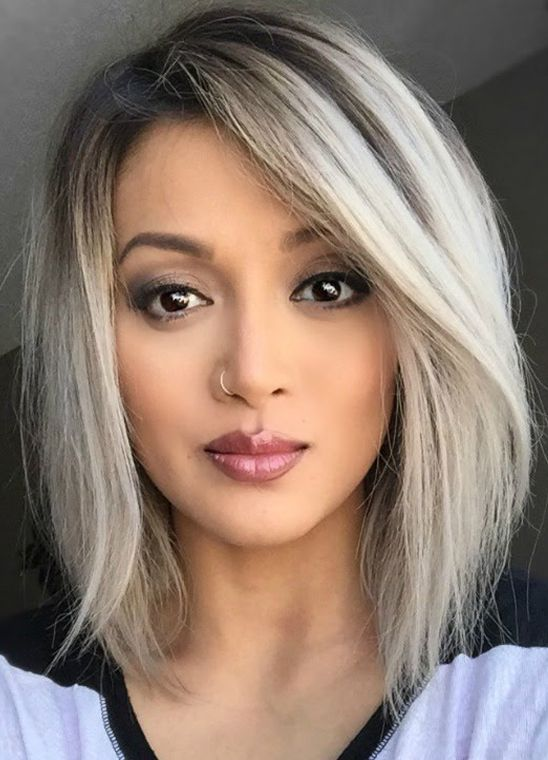 gorgeous a line bob hairstyles 2017 2018 in 2018 hairstyles 2017