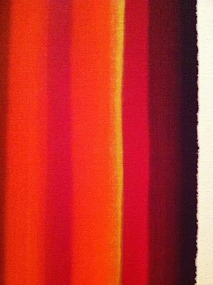 "morris louis | dayoutlast: Morris Louis ""Pillar of Delay,"" 1961, acrylic on canvas"