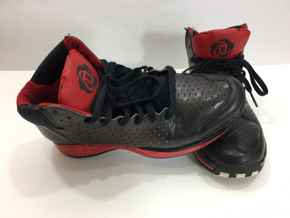 Details about Adidas D Rose 3 III Basketball Shoes Black