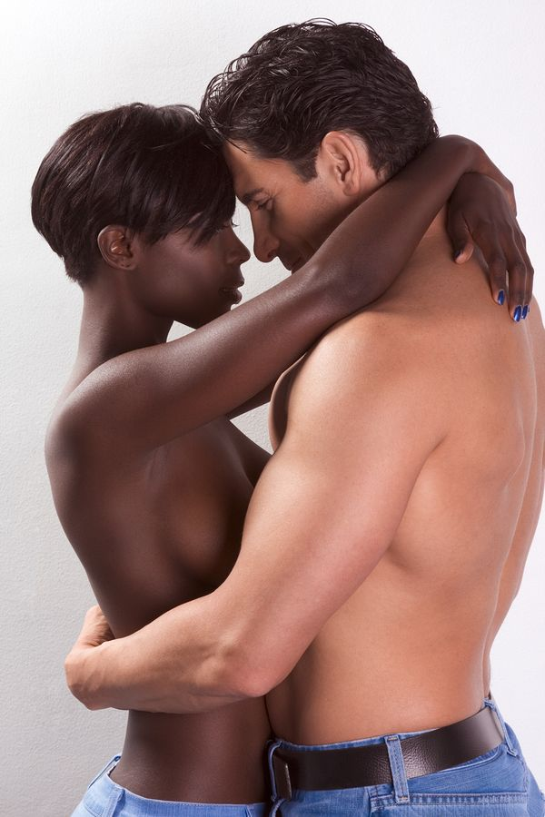 Big Black Girls Kissing