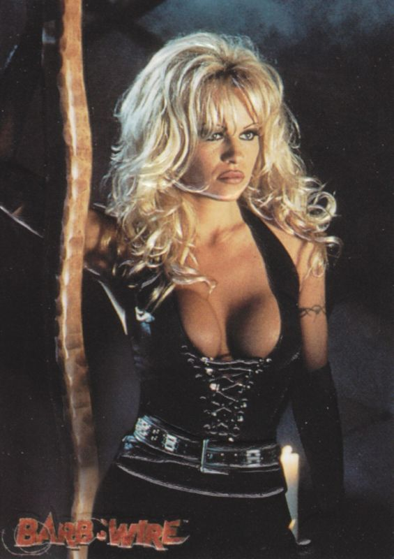 Pam anderson as barb wire the valuable answer