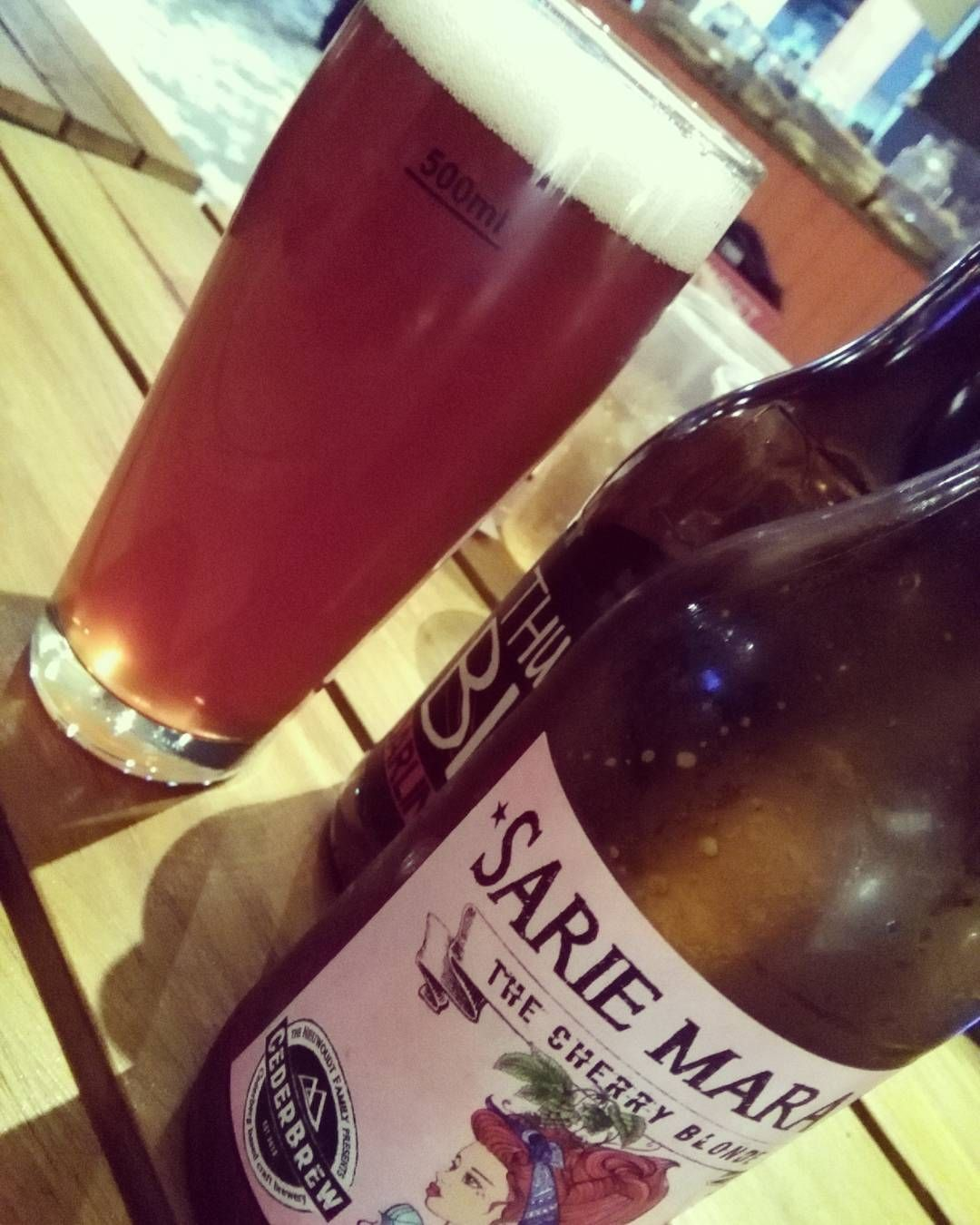 My Craft Beer Tour Continues With A Cherry Blonde By Sarie Marais With Images Beer Tours Craft Beer Instagram