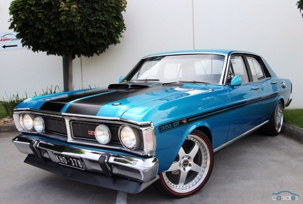 1971 Ford Falcon XY GT Maintenance/restoration of old/vintage ...