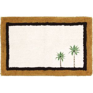 Better Homes And Gardens Palm Bath Rug Palm Tree Decorations Bath Rug Home And Garden