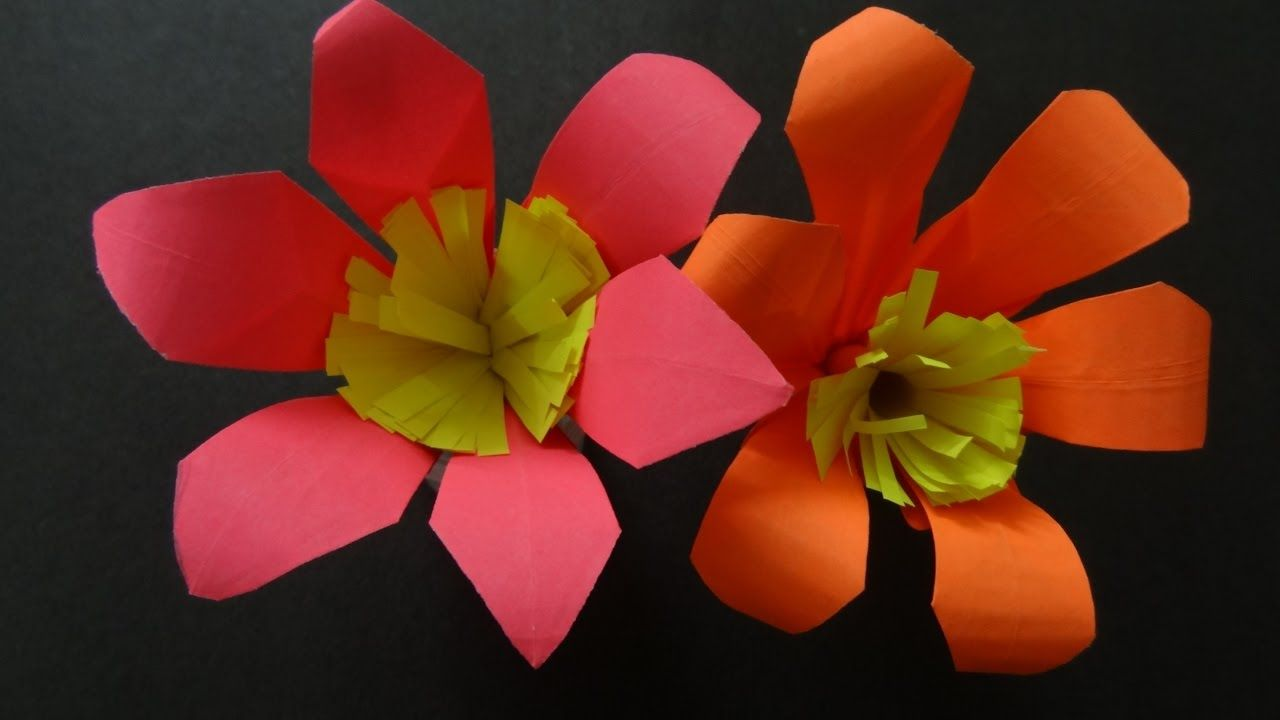 Paper crafts how to make paper lily flower flower diy piercing paper crafts how to make paper lily flower flower diy izmirmasajfo