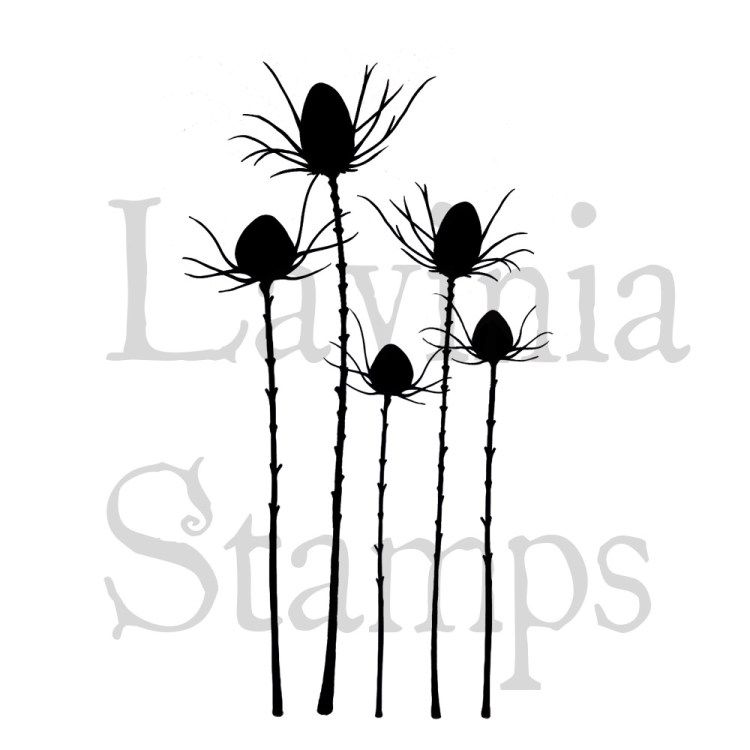 Silhouette thistle I WANT Lavinia stamps, Stamp, Fairy silhouette
