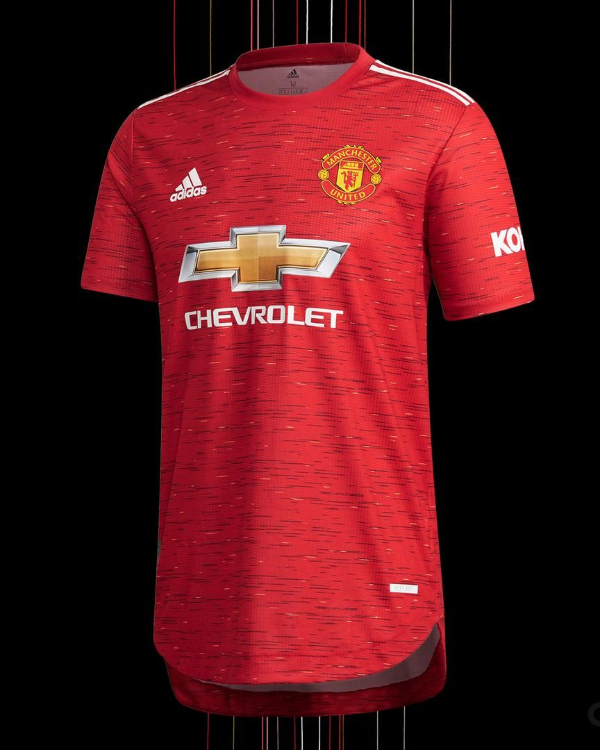 Man Utd Release New 2020 21 Adidas Home Kit Manchester United Manchester United Wallpaper Manchester United Logo Manchester United Home Kit