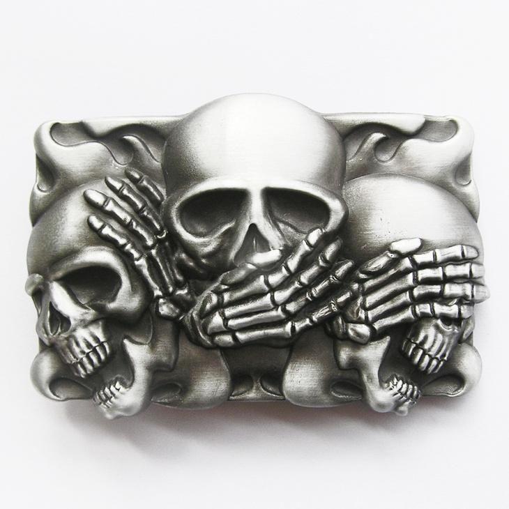 New Jean s Friend Original Vintage Flame Shy Skulls Rectangle Tattoo Belt  Buckle Gurtelschnalle Boucle de ceinture cd7daaef821