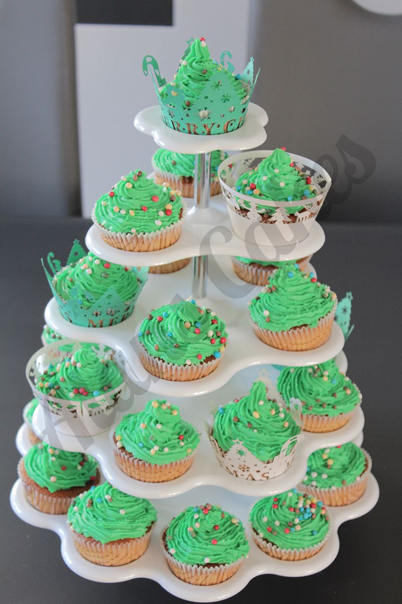 Etagere mit Cupcakes