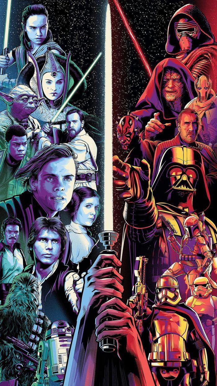 Star Wars Celebration Art – Phone Wallpaper – 1920 x 1080