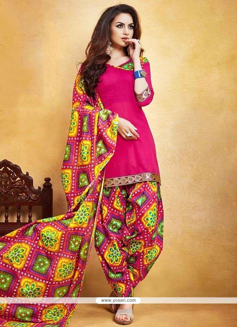 Prime Print Work Punjabi Suit