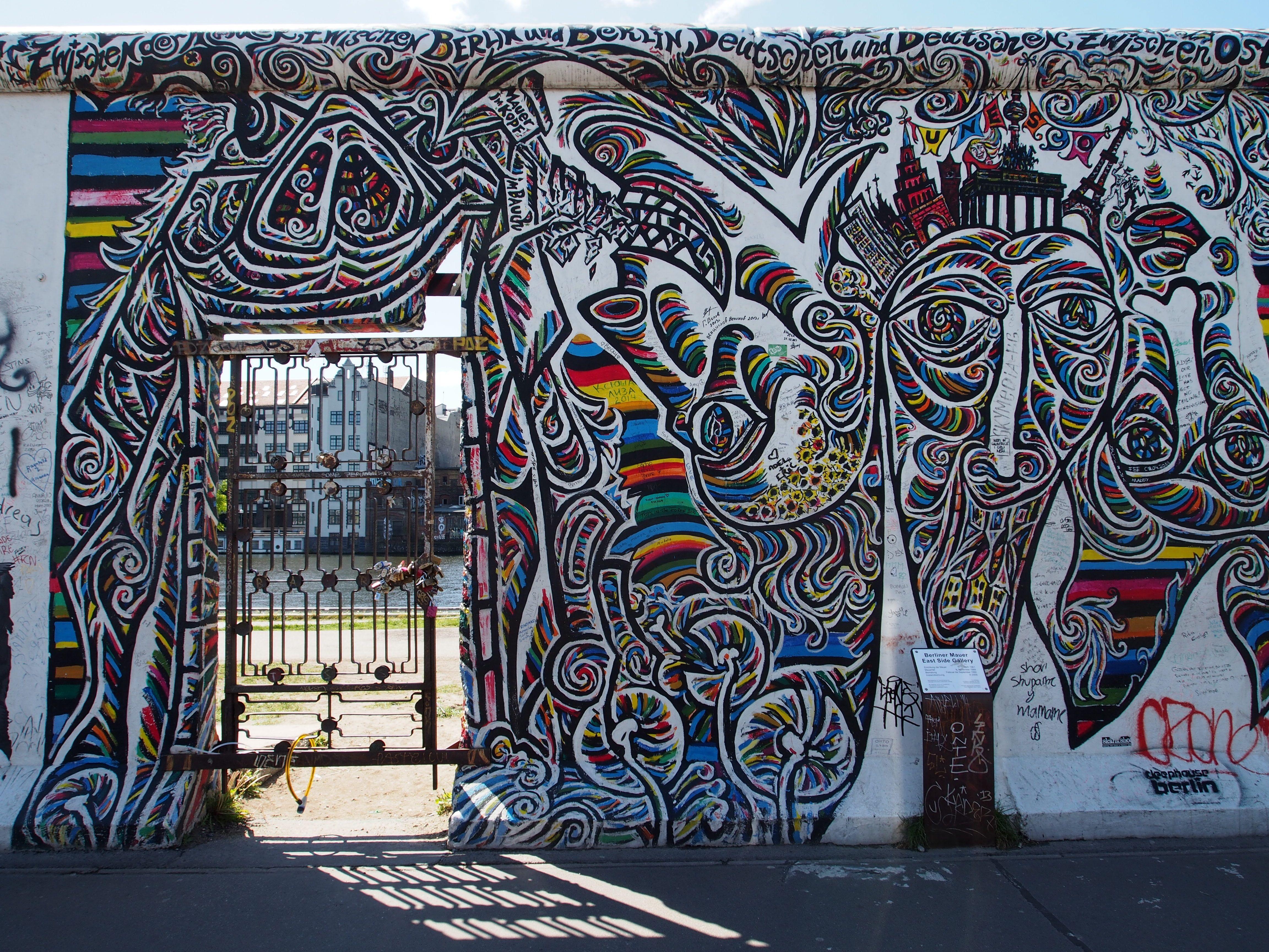 Berlin Mauer Berlin Wall Berlin East Side Gallery