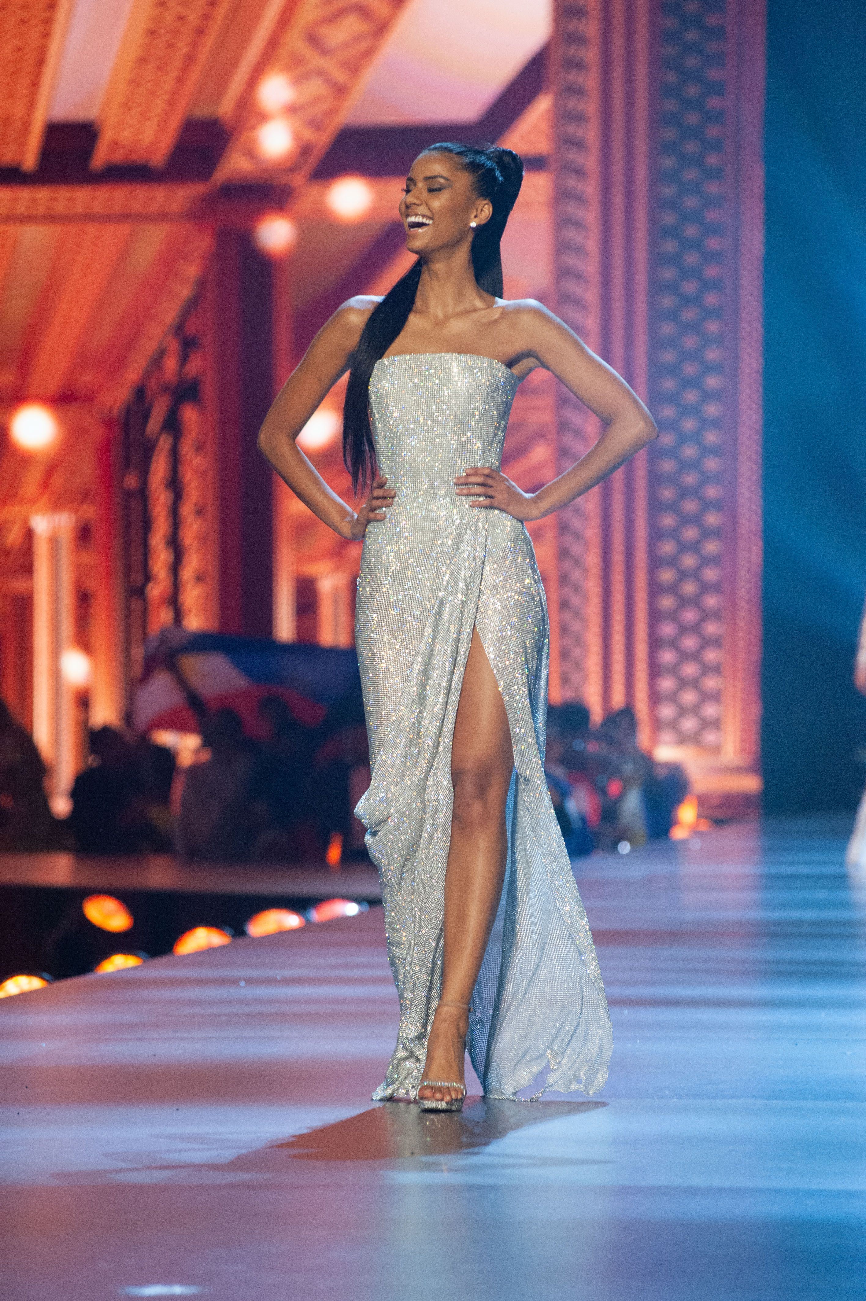 Tamaryn Green, Miss Universe South Africa 2018 competes on