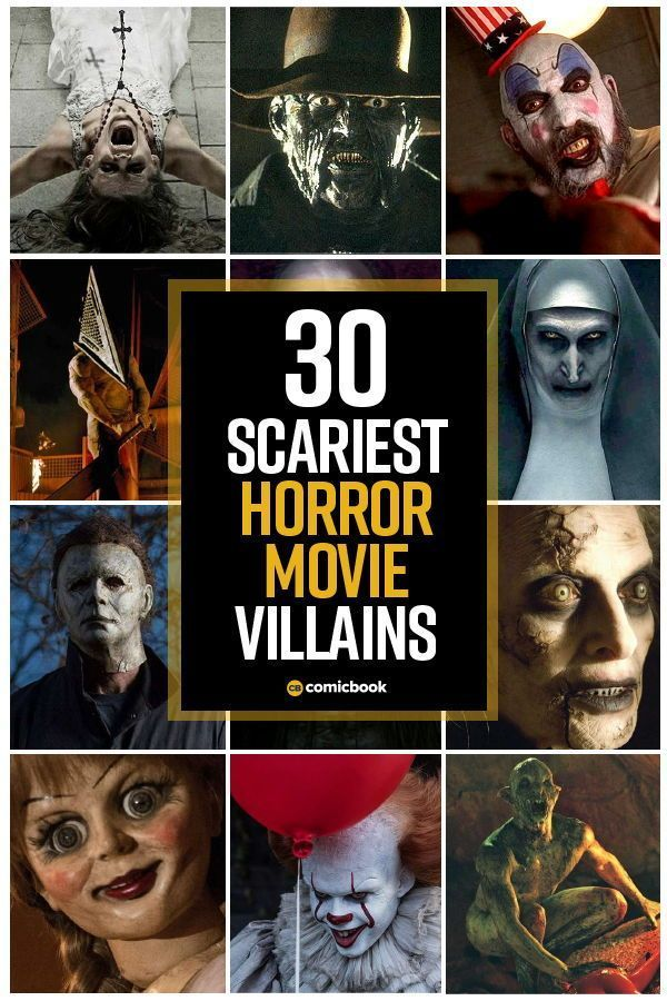 The 35 Scariest Horror and MonsterMovie Villains of This