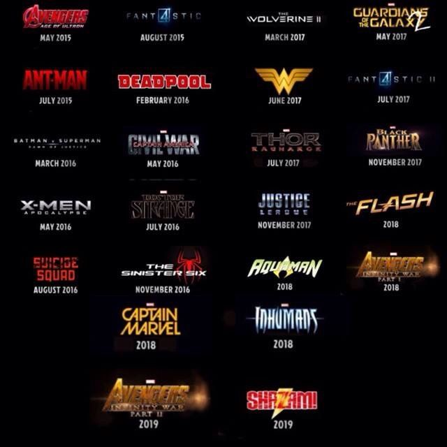 marvel film 2019