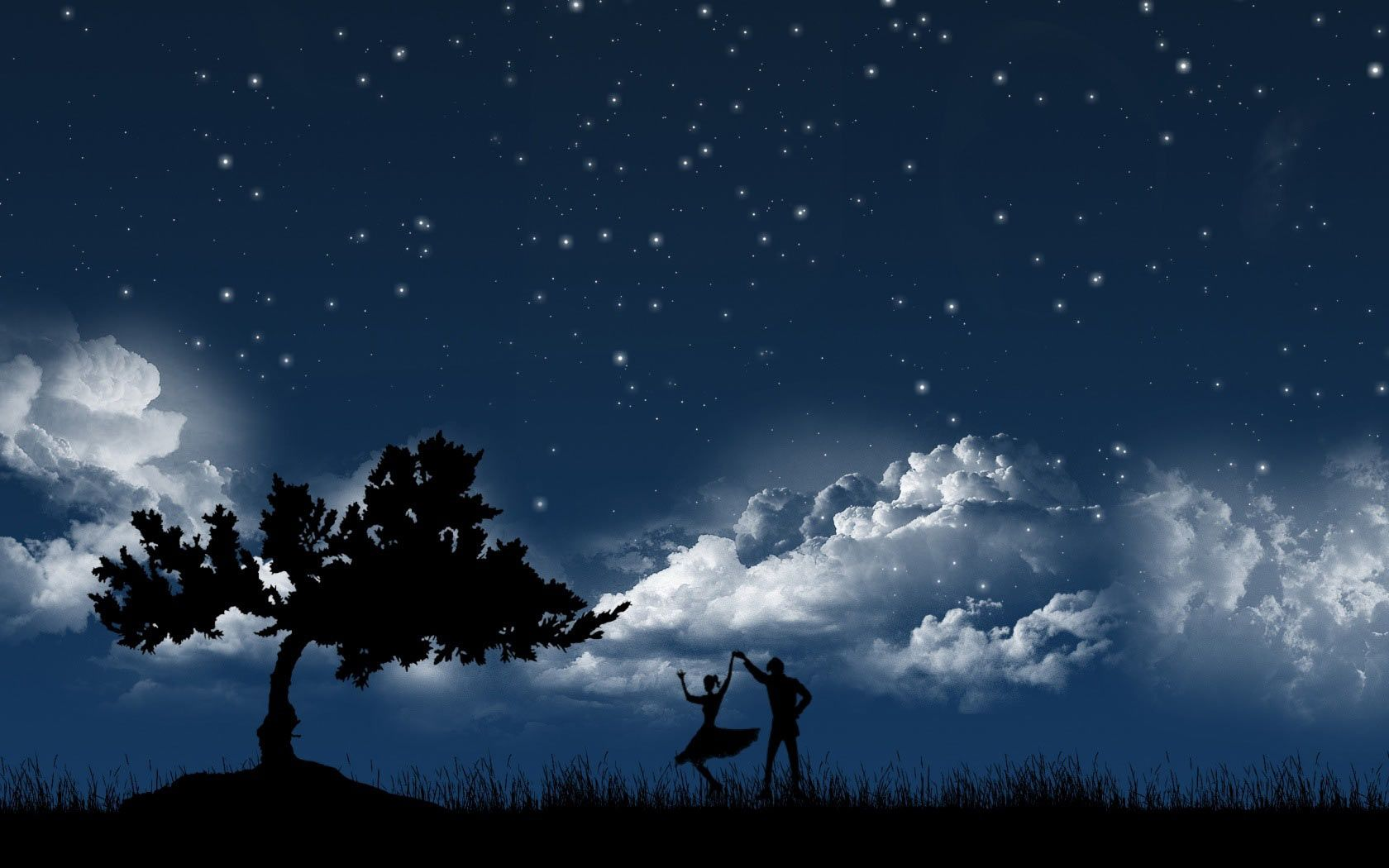 Free Wallpapers For Desktop Free Windows 7 Hd Wallpaper And Make This Wallpaper For Your Des Dancing In The Moonlight Good Night Wallpaper Night Pictures