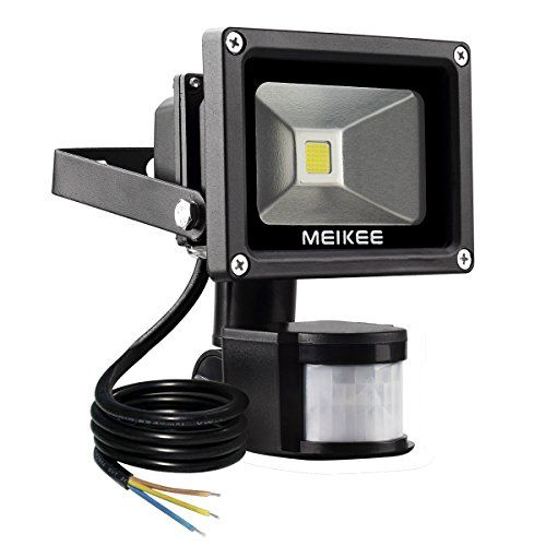 MEIKEE Faretto a LED da 10W con sensore di movimento