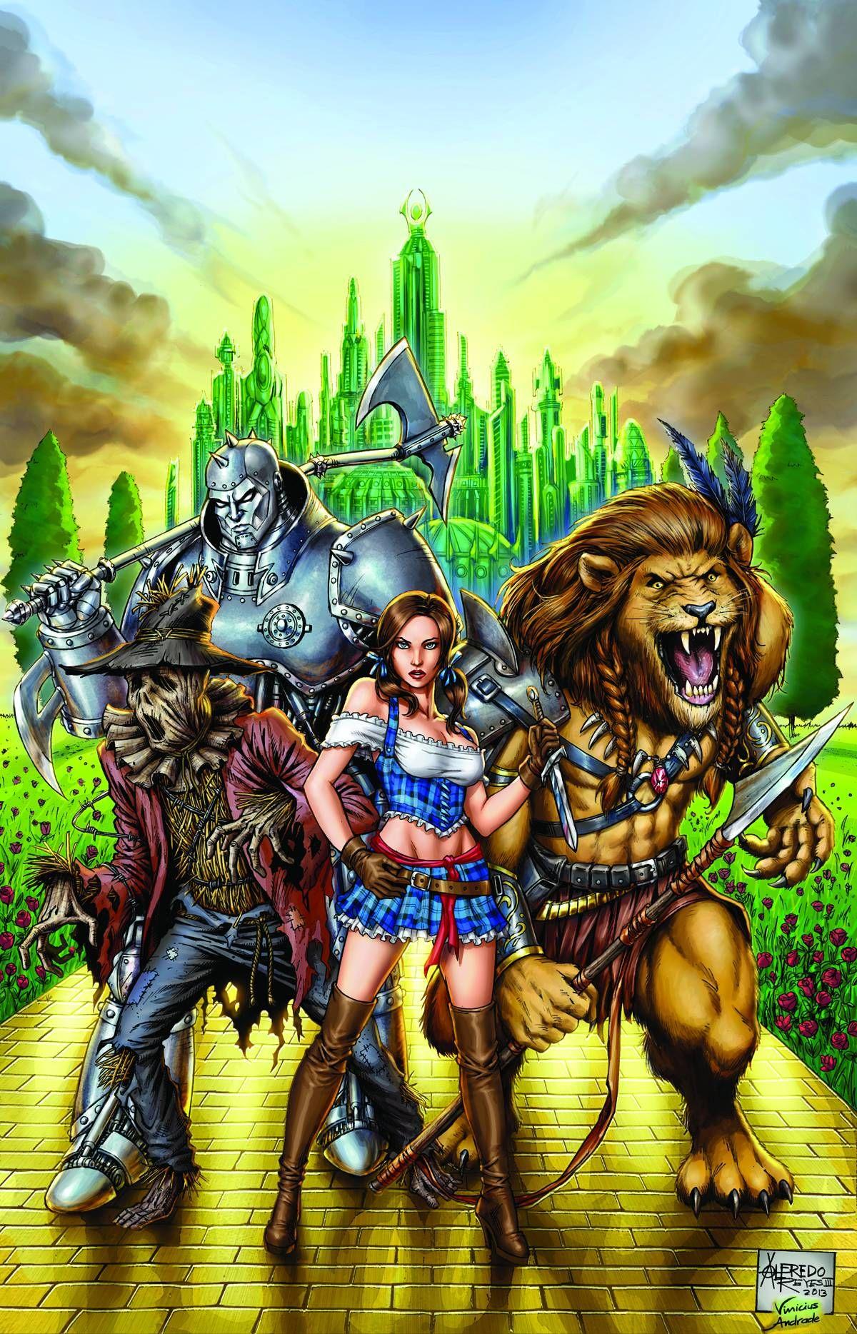 Grimm Fairy Tales Oz Alfredo Reyes