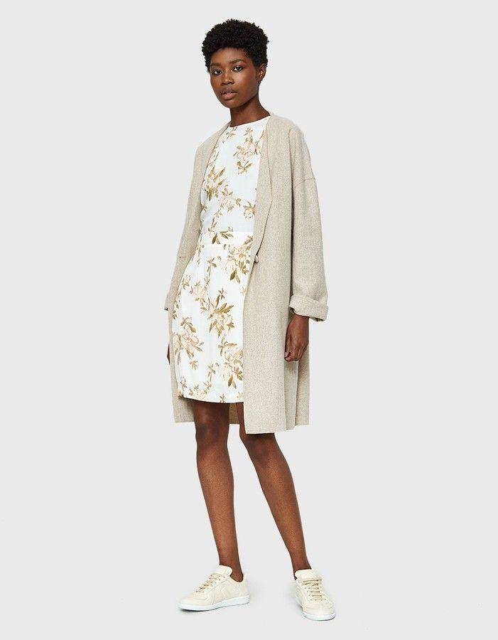 d181ac26 GANNI / St. Pierre Crepe Dress   Products   Mode, Herbst