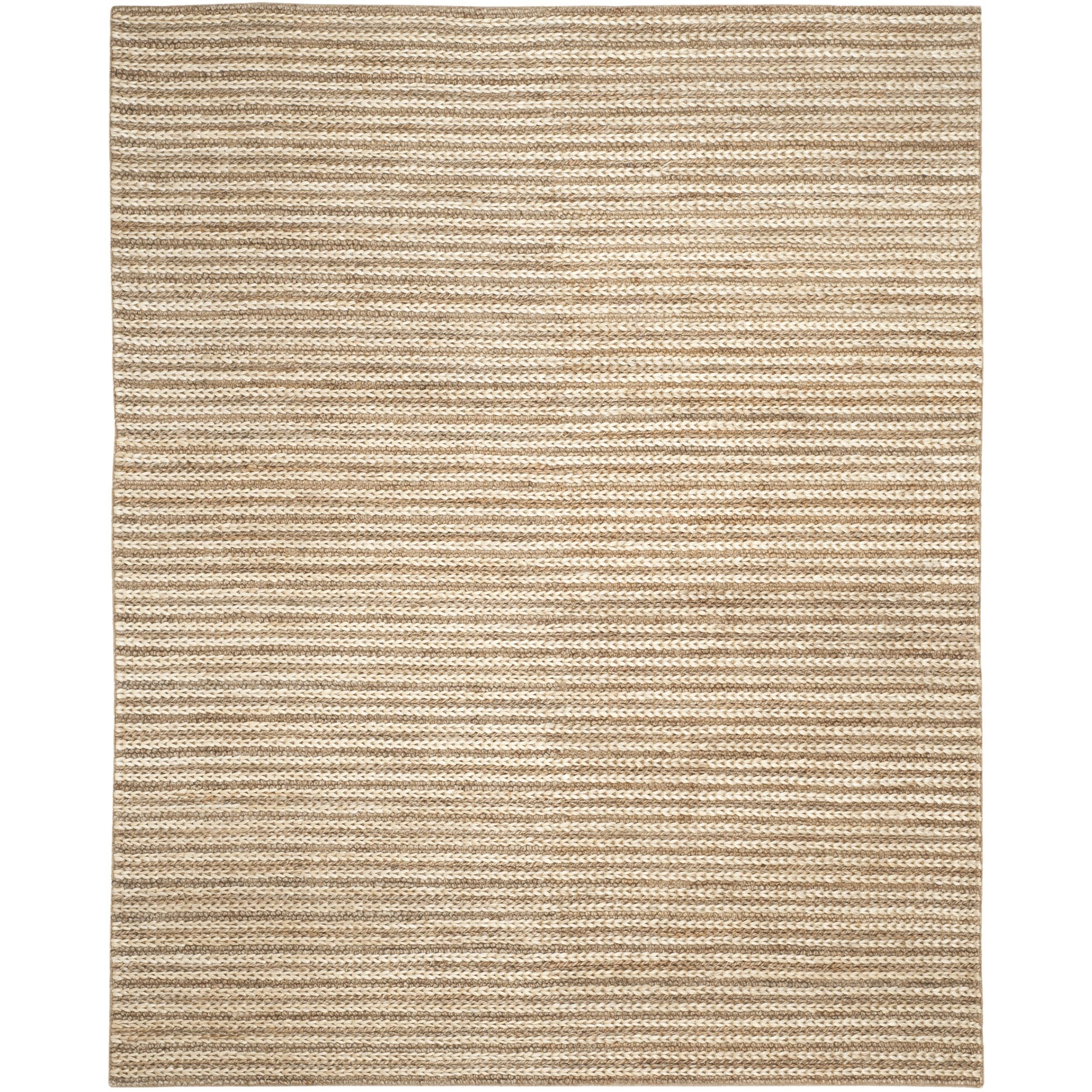 Safavieh Casual Natural Fiber Hand Woven Natural Jute Rug 8 X 10
