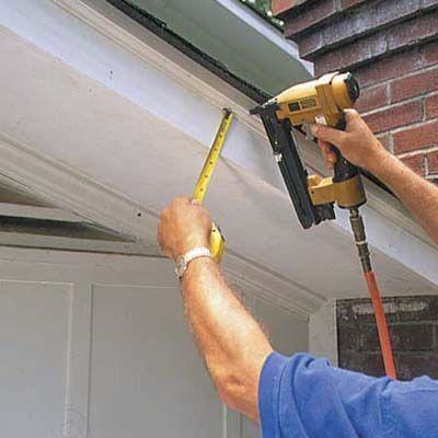 How to Repair a Rotted Soffit | DIY | Diy home repair ...
