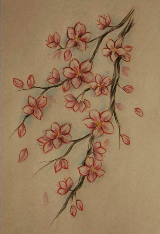 Belagoria La Web De Los Tatuajes Tatuajes De Flor De Cerezo Flor De Cerezo Tatuajes De Flores