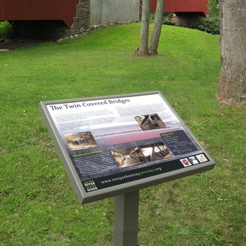 Interpretive Pannier Graphics Durable Outdoor Signs And Frames Interpretive Signage Outdoor Signs Signage