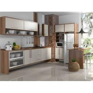 Cozinha Planejada Branca E Madeira Pesquisa Google Cozinha