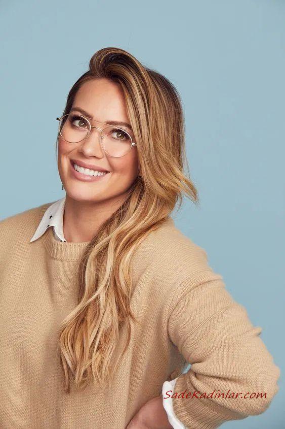 2020 Bayan Gozluk Modelleri Hilary Duff Moda Stilleri Moda