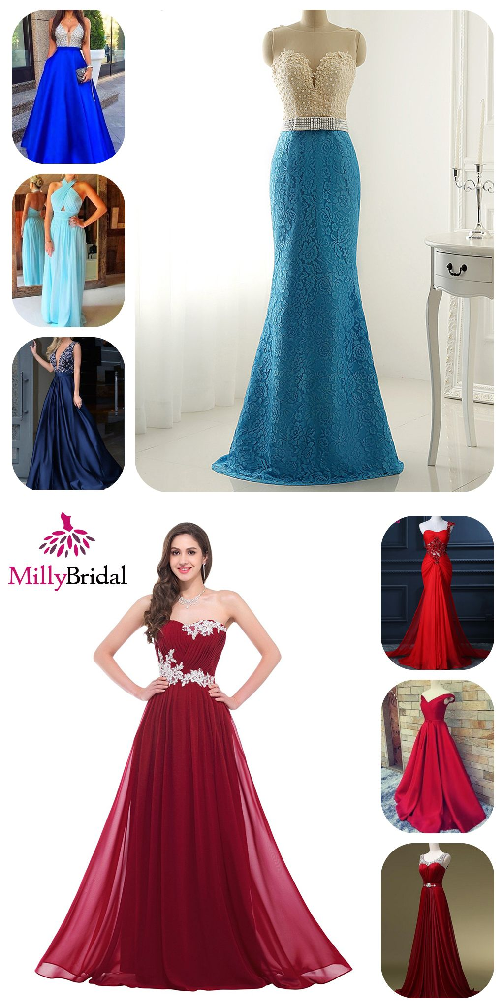 Long Prom Dresses 2018 Cheap Evening Formal Dresses For Women Sexy