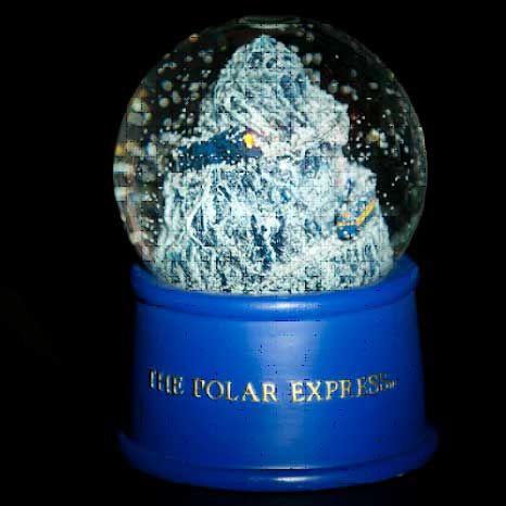 0073e5b82f Polar Express snow globe | Janet's Christmas Shop | Snow globes ...
