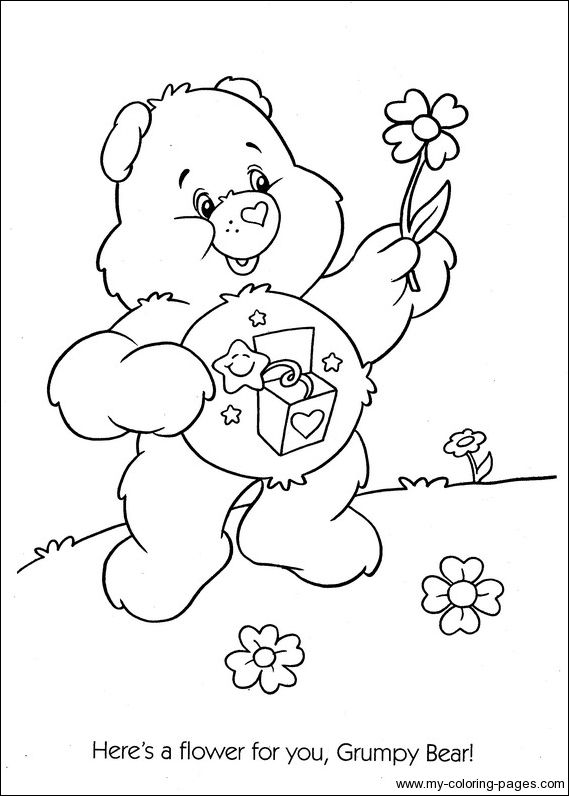 Care Bears Coloring091 Crafty